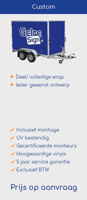 Aanhangwagen custom