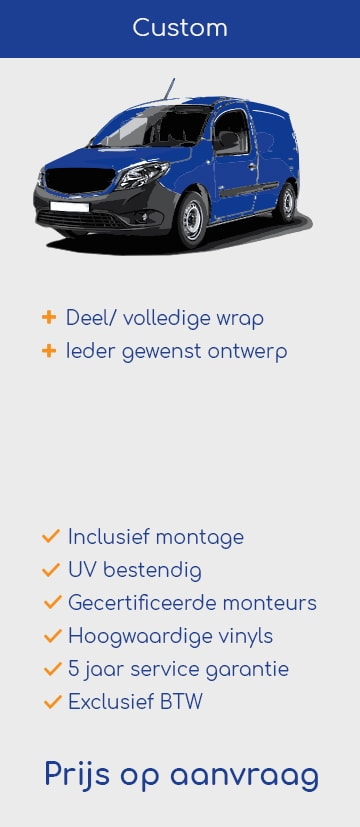 Custom bestelbus