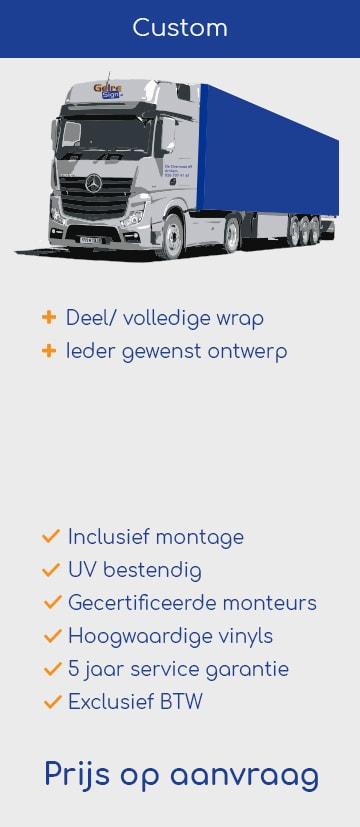 Custom vrachtwagen